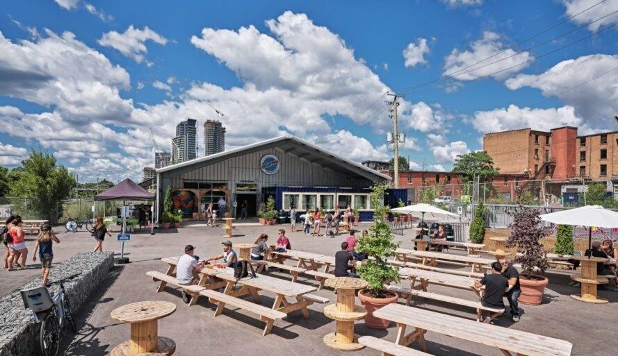 Stackt Market for Wine Fest Toronto